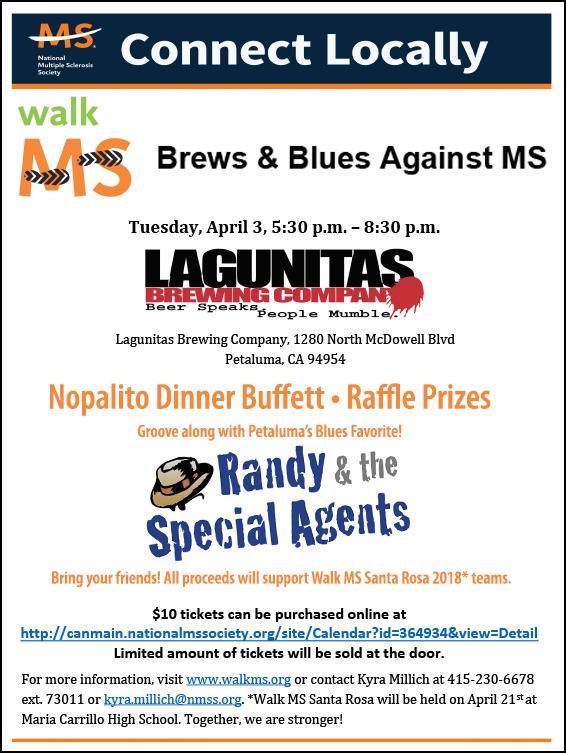 MS Blues & Brews 2018 Event Flyer