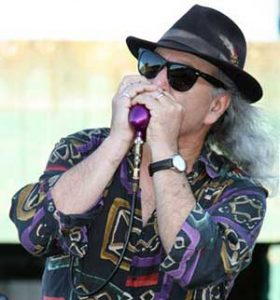 Sal Moreno, harmonica & vocals